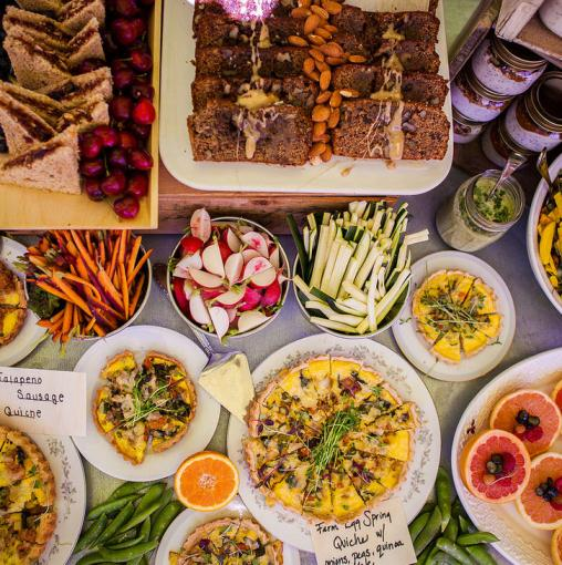 Food ossipee valley music for Table 52 sunday brunch